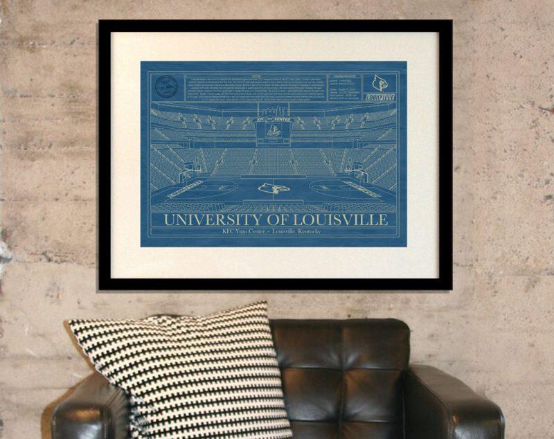 University of Louisville - KFC Yum! Arena Blueprint