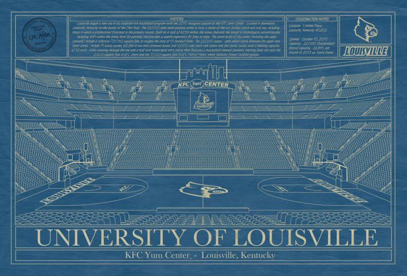 University of Louisville - KFC Yum! Center Blueprint
