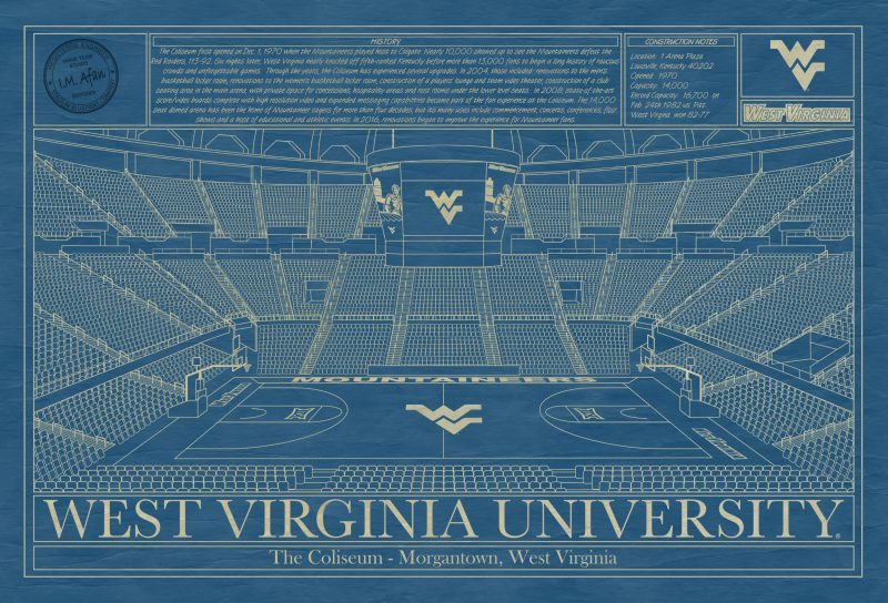 West Virginia University - The Coliseum