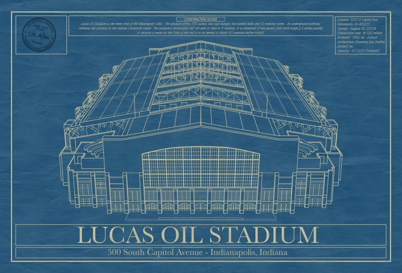 Indianapolis - Lucas Oil Stadium