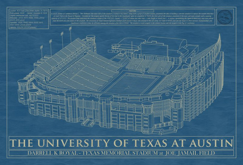 Austin - Darrell K Royal–Texas Memorial Stadium