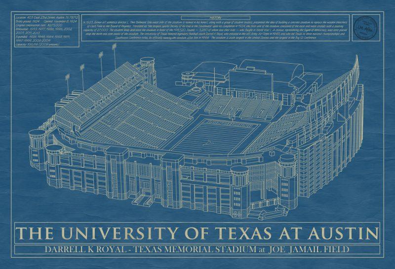 Austin - Darrell K Royal–Texas Memorial Stadium