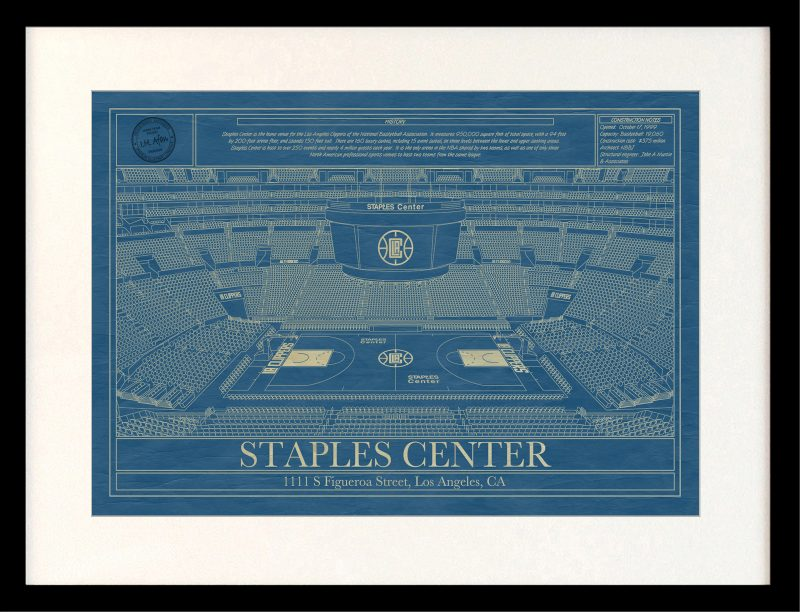 LA Clippers - Framed