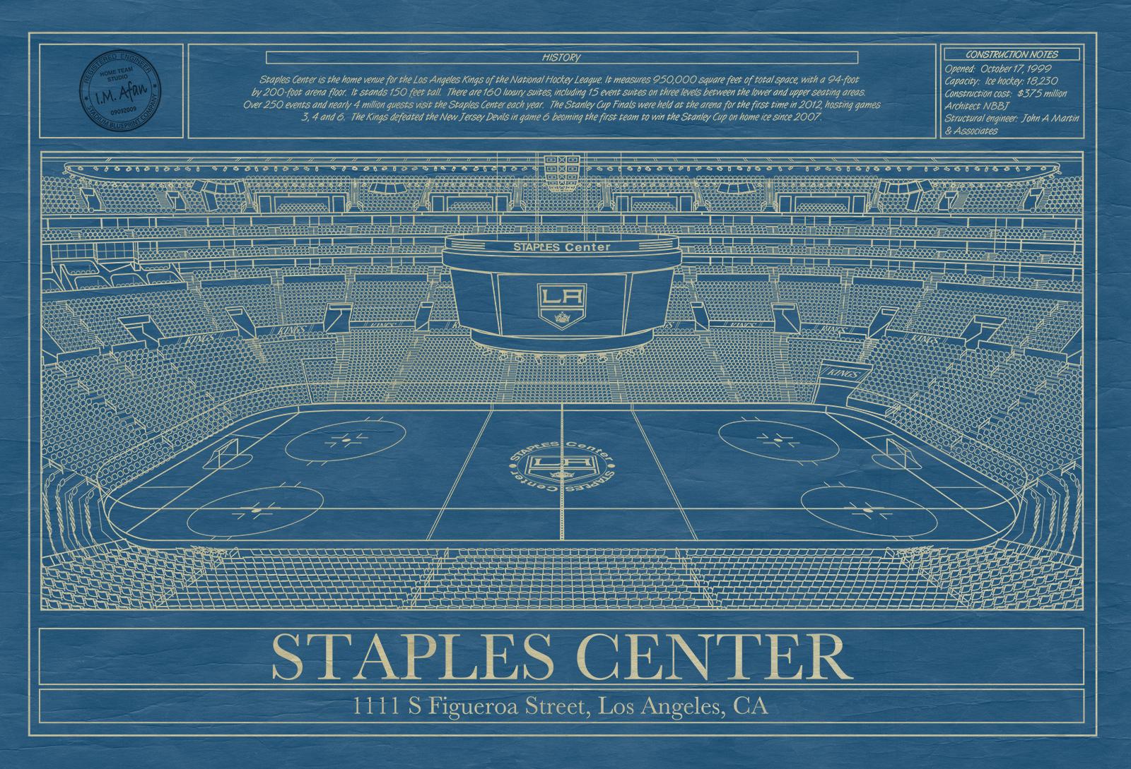 Professional Hockey Blueprints